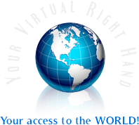 Your Virtual Right Hand...your access to the WORLD!